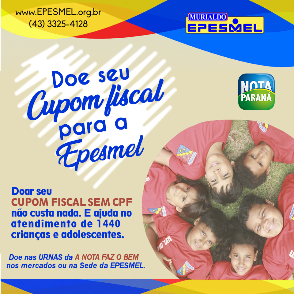 Cupom Fiscal - Epesmel S.Mercados